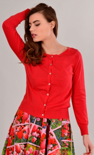 Cardigan Lucy. Sweety. Rouge