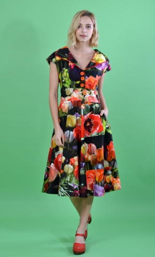 Robe La Bicyclette. Queen Tulip