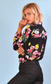Shirt Elle lisait Sophocle Philarmonie, printed long sleeves shirt with cuffs, fluid, mini rounded collar.