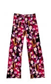 Pantalon Gus Boemian Room , printed trousers, wide and a little short, stretch, flat profile, zip side, patch pockets back and f